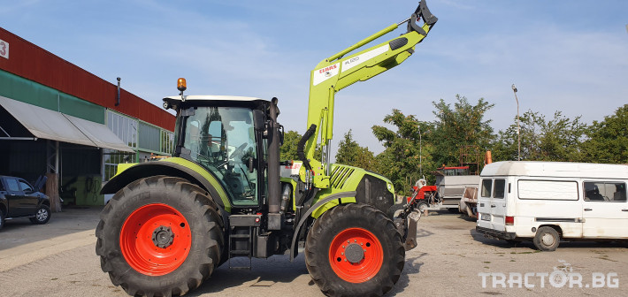 Трактори Claas ARION 630 с Фадрома 0