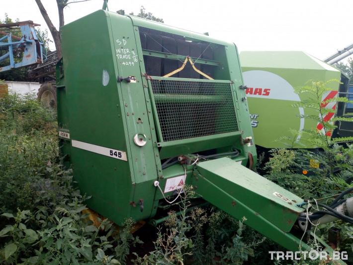 Сламопреси John-Deere 545 1 - Трактор БГ