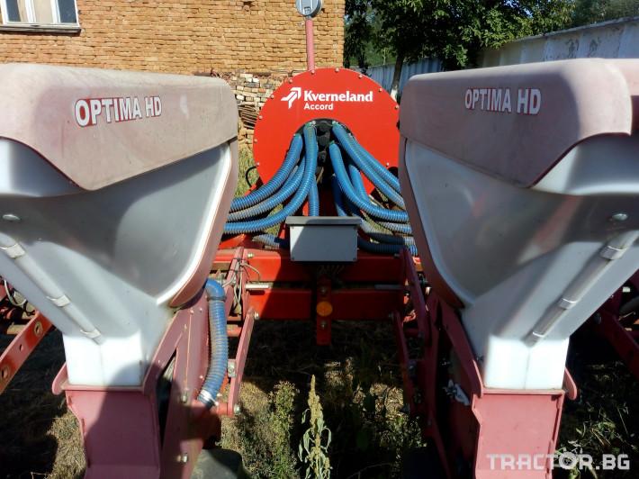 Сеялки Kverneland Optima HD 12 6 - Трактор БГ