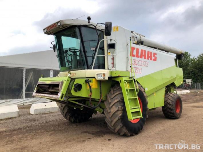 Комбайни Claas Lexion 460 Промоция 0 - Трактор БГ
