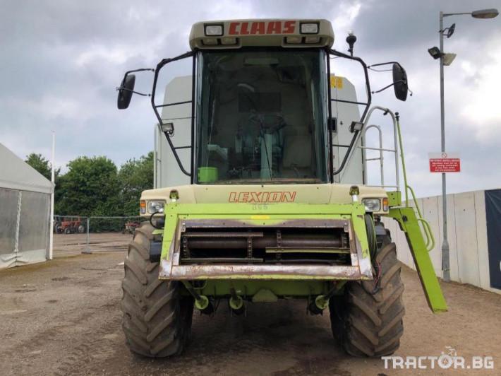 Комбайни Claas Lexion 460 Промоция 1 - Трактор БГ