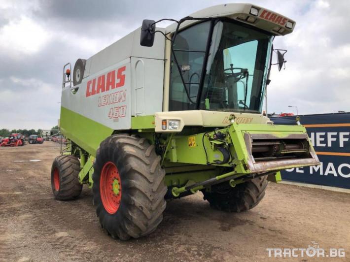 Комбайни Claas Lexion 460 Промоция 2 - Трактор БГ