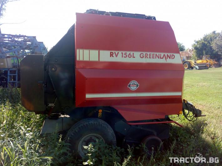 Сламопреси Балировачка Kverneland - Greenland RV 156 L 3 - Трактор БГ