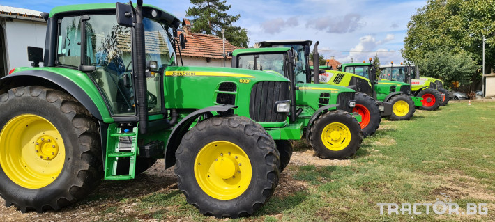 Трактори John-Deere 6930 3 - Трактор БГ