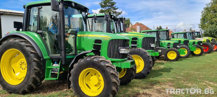 Трактори John-Deere 6330 1 - Трактор БГ