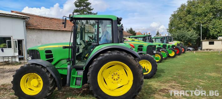 Трактори John-Deere 6330 4 - Трактор БГ