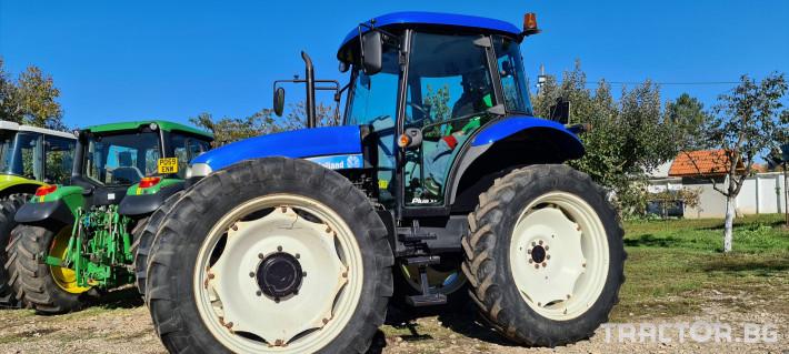 Трактори New-Holland TD5050 3 - Трактор БГ
