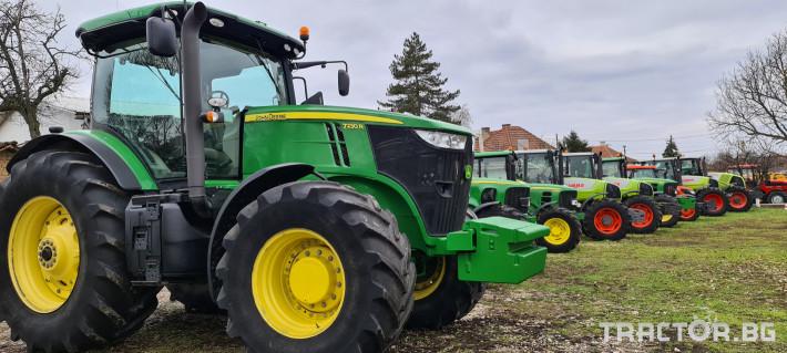 Трактори John-Deere 7230R 12 - Трактор БГ