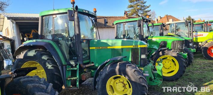 Трактори John-Deere 6810 6 - Трактор БГ