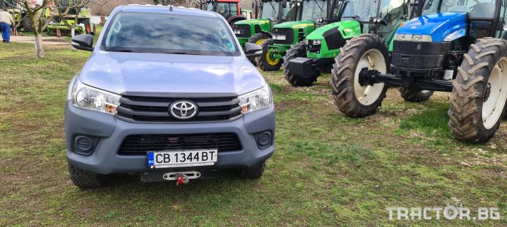 Пикапи и джипове Toyota Hilux 2.4 D 0 - Трактор БГ
