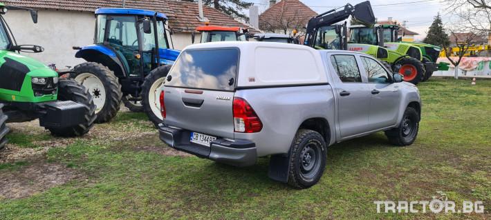 Пикапи и джипове Toyota Hilux 2.4 D 3 - Трактор БГ