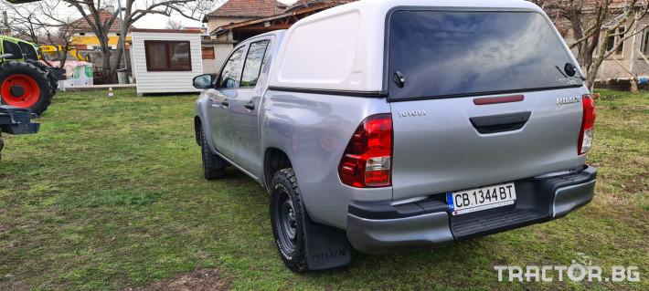 Пикапи и джипове Toyota Hilux 2.4 D 4 - Трактор БГ
