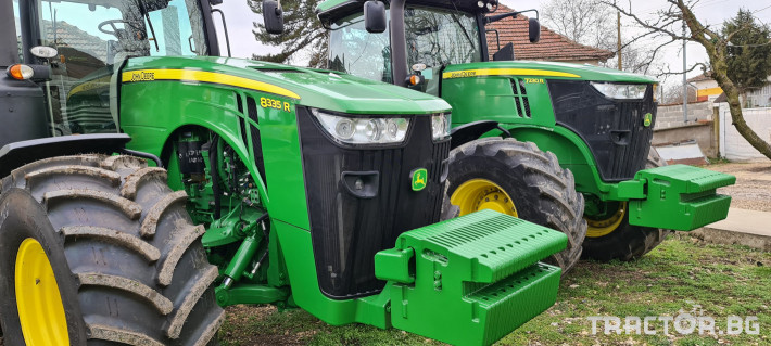 Трактори John-Deere 8335R 0 - Трактор БГ