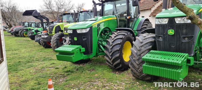 Трактори John-Deere 8335R 1 - Трактор БГ