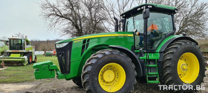 Трактори John-Deere 8335R 3 - Трактор БГ