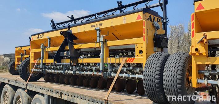 Сеялки ALP 4 метра за житни 1 - Трактор БГ