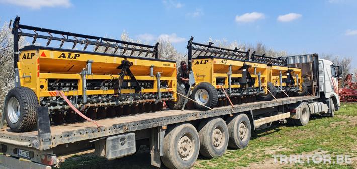 Сеялки ALP 4 метра за житни 2 - Трактор БГ