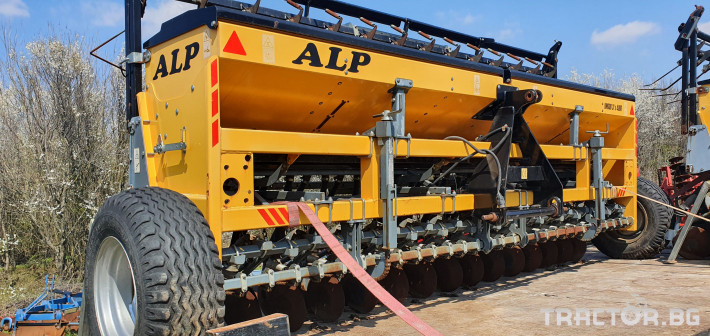 Сеялки ALP 4 метра за житни 3 - Трактор БГ
