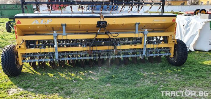 Сеялки ALP 4 метра за житни 5 - Трактор БГ