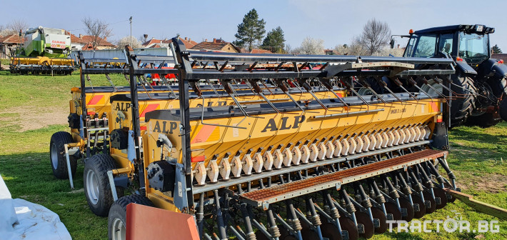 Сеялки ALP 4 метра за житни 7 - Трактор БГ