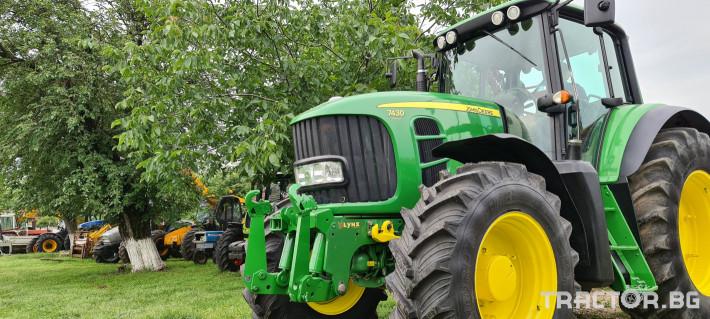 Трактори John-Deere 7430 PREMIUM 3 - Трактор БГ