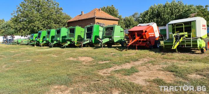 Сламопреси John-Deere 550 , 575 , 590 0 - Трактор БГ