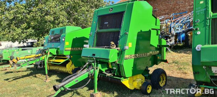 Сламопреси John-Deere 550 , 575 , 590 1 - Трактор БГ