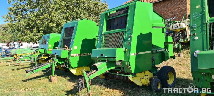 Сламопреси John-Deere 550 , 575 , 590 2 - Трактор БГ