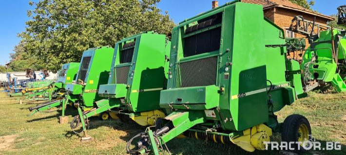 Сламопреси John-Deere 550 , 575 , 590 3 - Трактор БГ