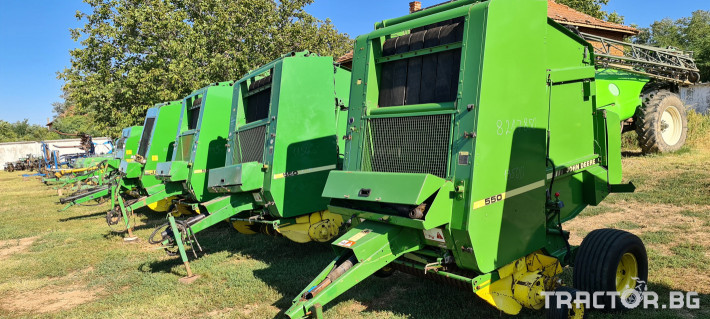 Сламопреси John-Deere 550 , 575 , 590 4 - Трактор БГ