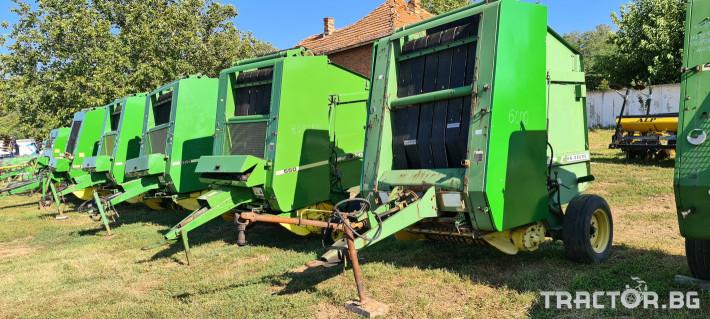 Сламопреси John-Deere 550 , 575 , 590 5 - Трактор БГ