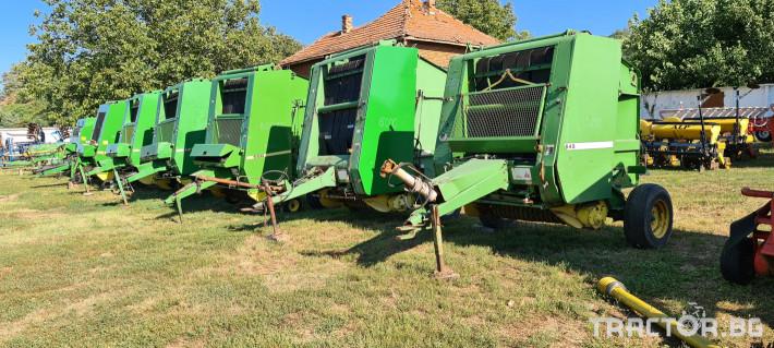 Сламопреси John-Deere 550 , 575 , 590 6 - Трактор БГ