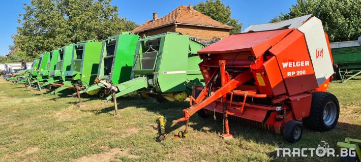 Сламопреси John-Deere 550 , 575 , 590 7 - Трактор БГ