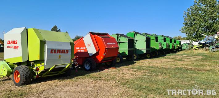 Сламопреси John-Deere 550 , 575 , 590 9 - Трактор БГ