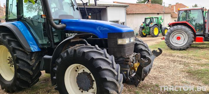 Трактори New-Holland TM 165 0 - Трактор БГ