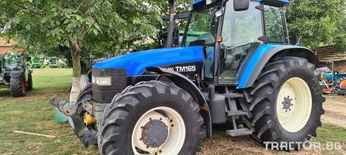 Трактори New-Holland TM 165 1 - Трактор БГ