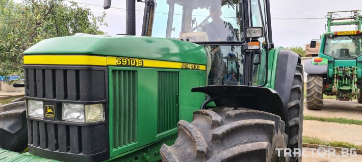 Трактори John-Deere 6910 S 3 - Трактор БГ